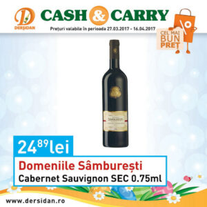 Domeniile Samburesti Cabernet