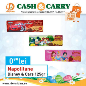 Napolitane Disney cars