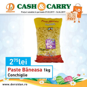 Paste Baneasa Conchiglie